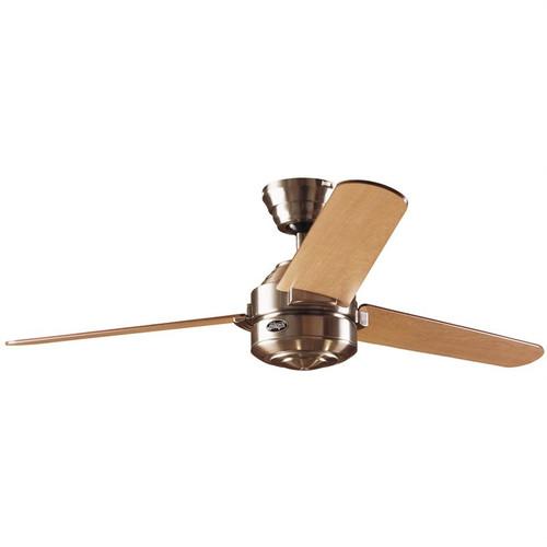 "Carera 52"" Brushed Nickel with Maple/Dark Walnut Blades Ceiling Fan"