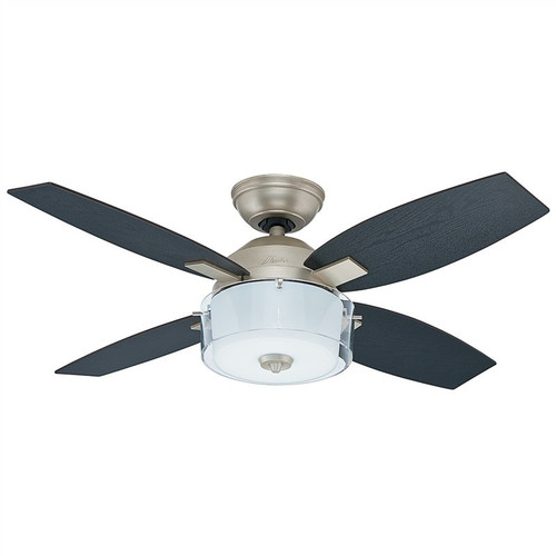 "Central Park 42"" Pewter Revival with Black Oak/Roasted Oak Blades Ceiling Fan"