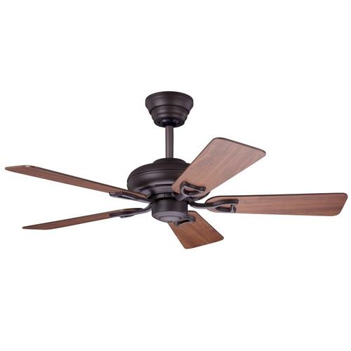 "Seville II 44"" New Bronze with Dark Cherry/Medium Oak Blades Ceiling Fan"