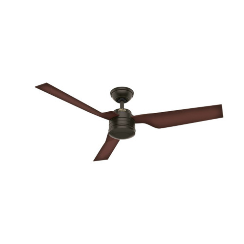 """Cabo Frio 52"""" New Bronze with Coffee Beech Outdoor Moulded Blades Ceiling Fan"""