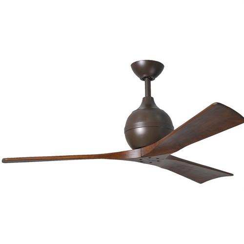 "Irene 3 60"" DC Textured Bronze Blades Ceiling Fan"