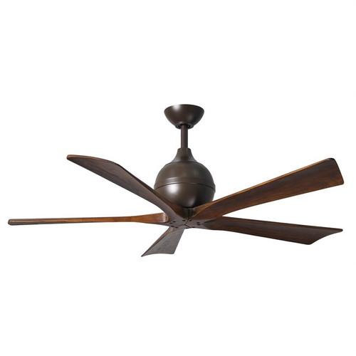"Irene 5 52"" DC Textured Bronze Blades Ceiling Fan"