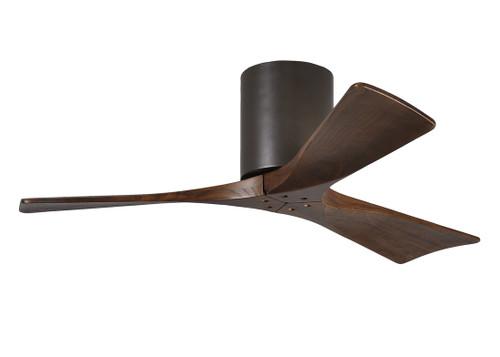 "Irene Hugger 3 42"" DC Textured Bronze Blades Ceiling Fan"