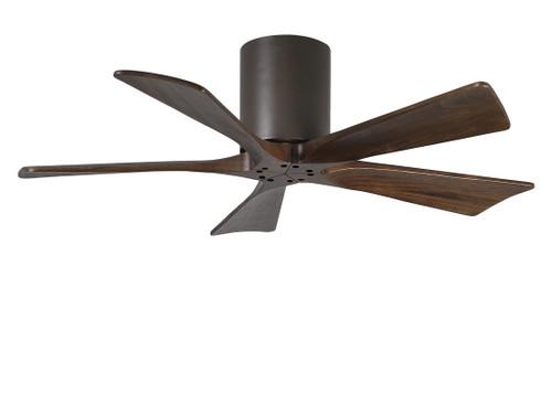 "Irene Hugger 5 60"" DC Textured Bronze Blades Ceiling Fan"