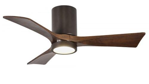 "Irene Hugger 3 60"" DC Textured Bronze Blades Ceiling Fan with LED Light"