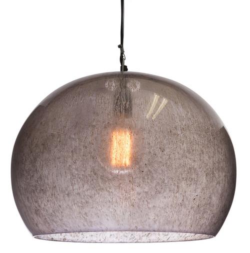 Glencoe Dome Smoke Glass Pendant Light