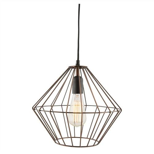 Conical Galvanized Iron Wire Antique Zinc Industrial Pendant Light