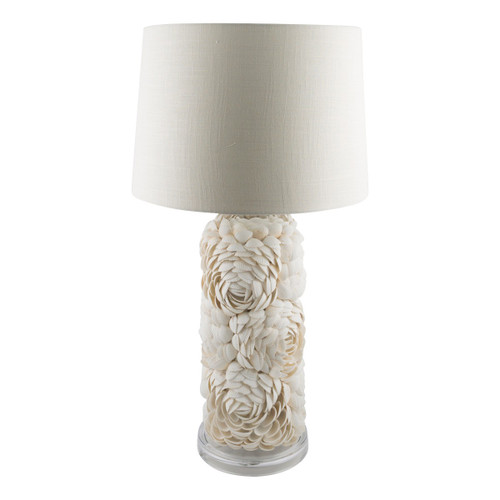 Isla Tall Layered Shell Table Lamp