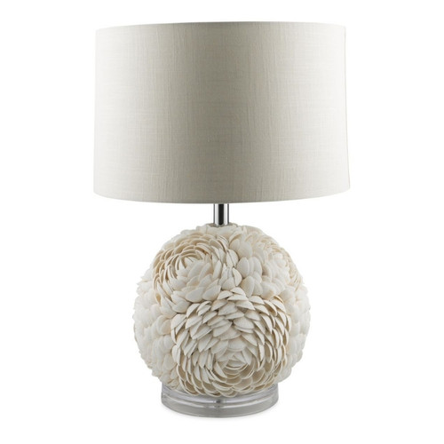 Isla Round Layered Shell Table Lamp