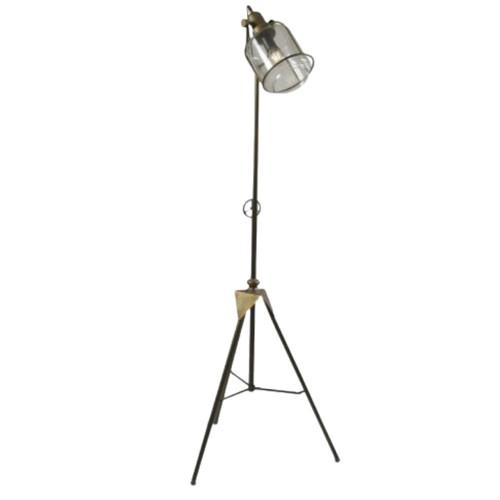 Brooklyn Freestanding Brass Floor Lamp