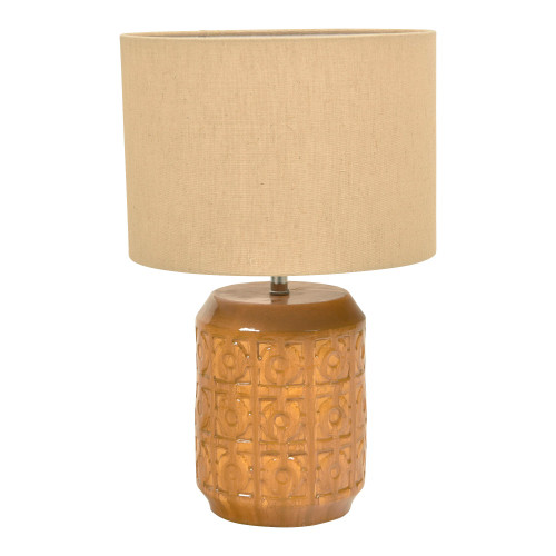 Livia Terracotta Table Lamp