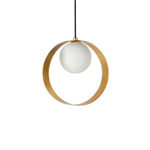 ABC Round Gold  Pendant Light