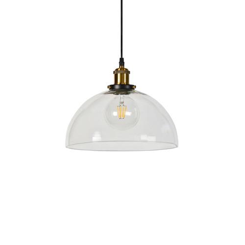 Ada Dome Clear Glass Pendant Light