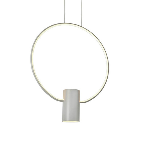 Aurora Ring White LED Pendant Light - Large