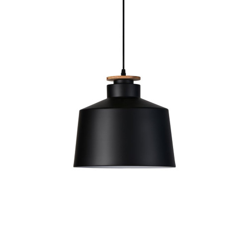Elena Bell Black Industrial Pendant Light
