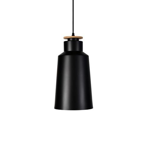 Stella Tall Black Industrial Pendant Light