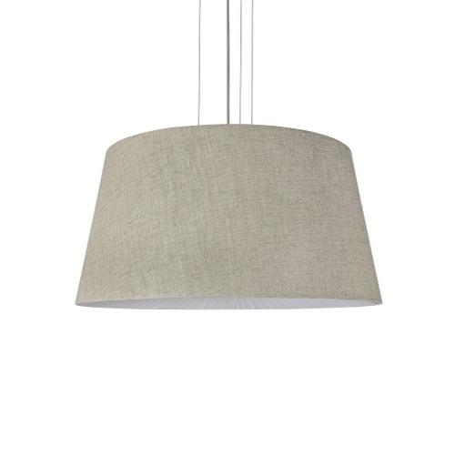 Drum Linen Fabric Shade Pendant Light