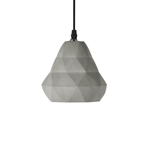 Cleo Geometric Concrete Pendant Light