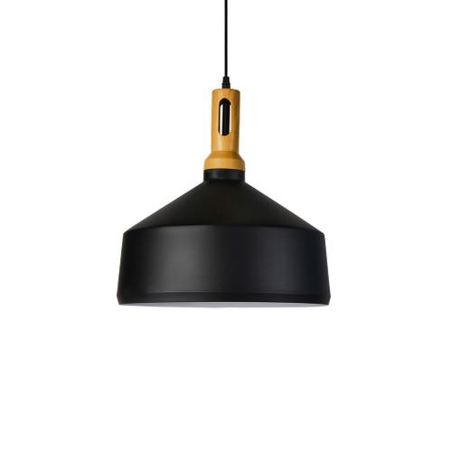 Zara Cone Black Metal Pendant Light
