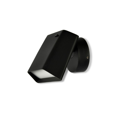 Hellen Black Spot Wall Light with Switch