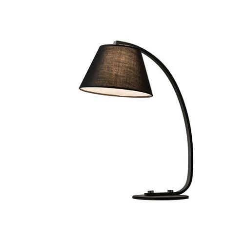 Gigi Arc Black Table Lamp