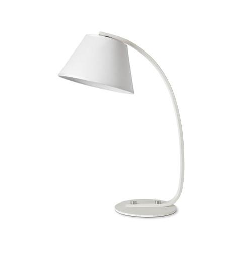 Gigi Arc White Table Lamp
