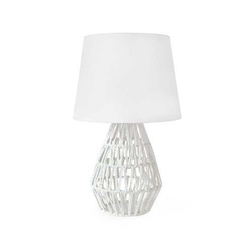 Pixie White Rope Table Lamp