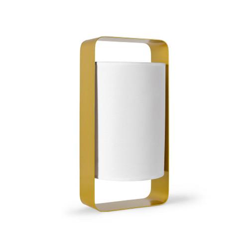 Owen Gold Opal Shade Table Lamp - Medium