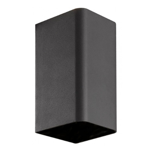 May Black Rectangle Up/Down Exterior Wall Light