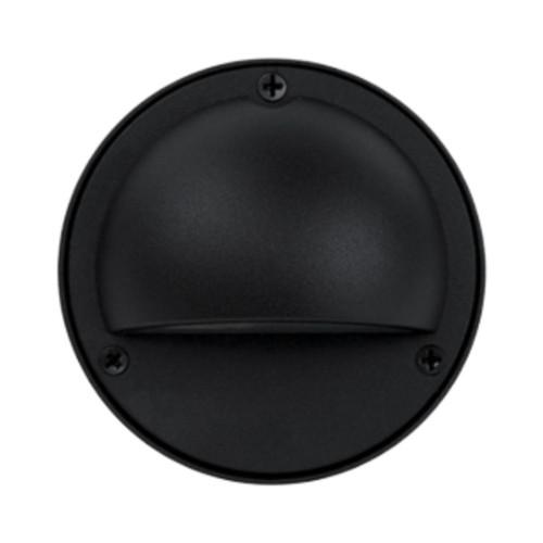 Pinta Black Louvered With Eyelid Step Light
