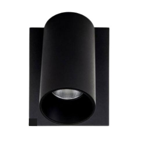 Revo Black 1 Light Adjustable Spot Light