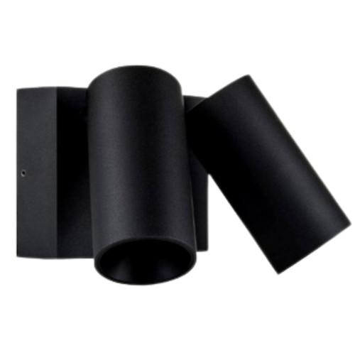 Revo Black 2 Light Aluminum Adjustable Spot Light
