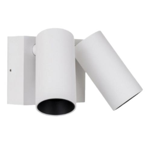 Revo White 2 Light Aluminum Adjustable Spot Light