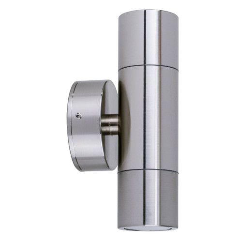 Tube 316 Stainless Up/Down Exterior Wall Light