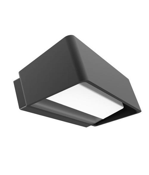 Typo Dark Grey Aluminum Wall Light