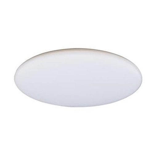 Sleek Opal White Close To Ceiling Light
