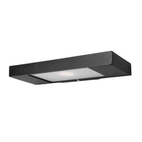 Ibox Slimline Black LED Wall Light