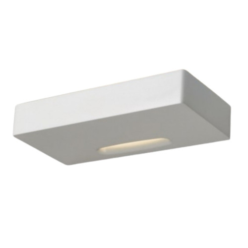 Lunar White Up and Down Dimmable LED Wall Light