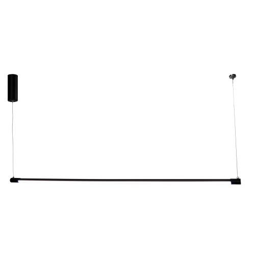Blade Black Slimline LED Linear Pendant Light