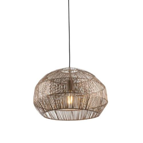 Frisco Dome Bronze Iron Strip Pendant Light
