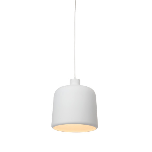 Connell Bell White Metal Pendant Light - Small