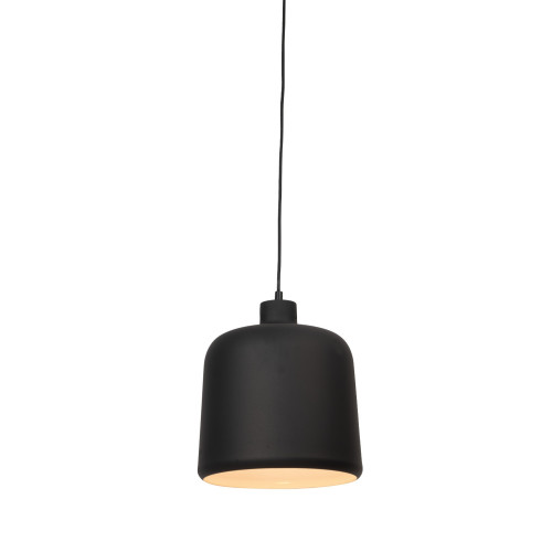 Connell Bell Black  Metal Pendant Light - Small