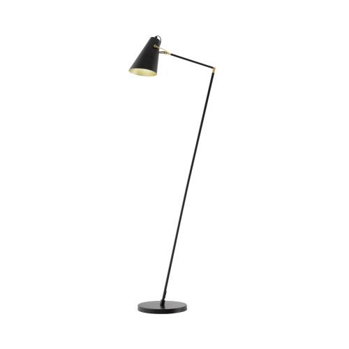 Covington Black Cone Head Adjustable Floor Lamp
