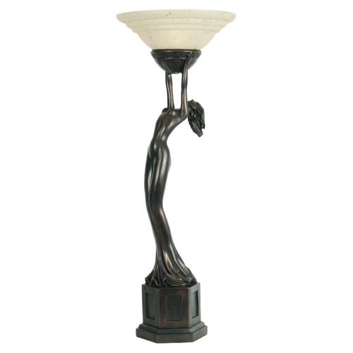 Elena Uplight Art Deco Table Lamp