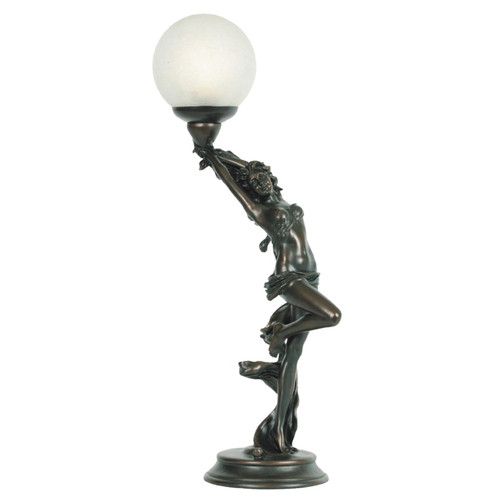 Mariana Bronze Art Deco Table Lamp