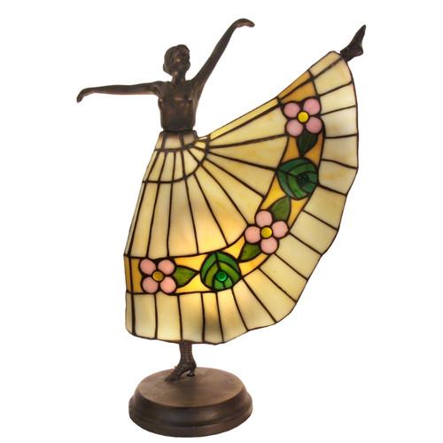 Lady Dancer Tiffany Table Lamp