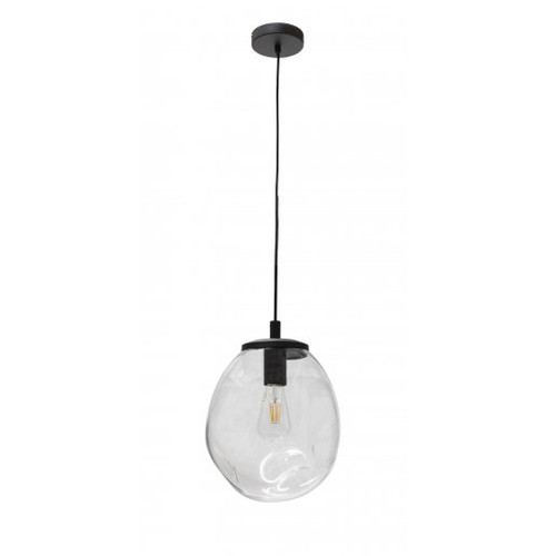 Eve Clear Hand Blown Glass Pendant Light - Large