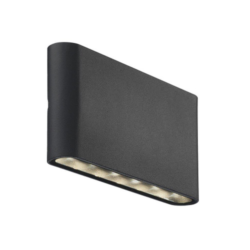 Kinver Up and Down Black Outdoor Wall Light