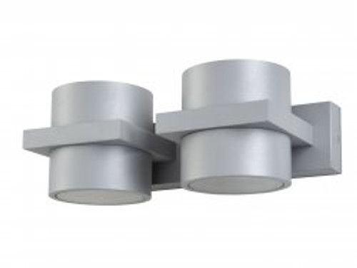 Tomah 2 Light Up/Down with Glass Diffuser Wall Light
