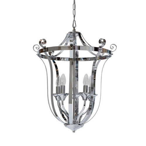 Conway 5 Light Chrome French Provincial Pendant Light